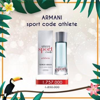 Nước hoa Armani Code Sport Athlete cho Nam