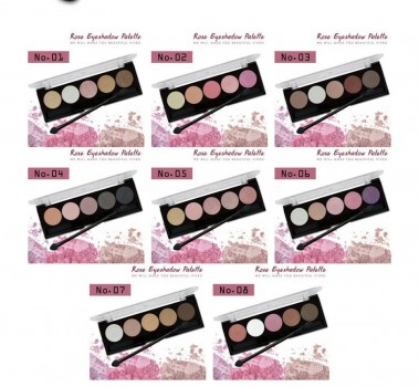 Set Màu Mắt 5 ô ODBO Rose Eyeshadow Palette