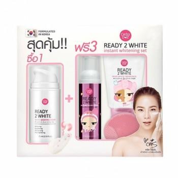 Bộ sản phẩm dưỡng trắng da Cathy Doll Ready 2 White Instant Whitening Set