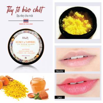 May Lip Scrub Sugar – Tẩy tế bào chết dịu nhẹ cho môi