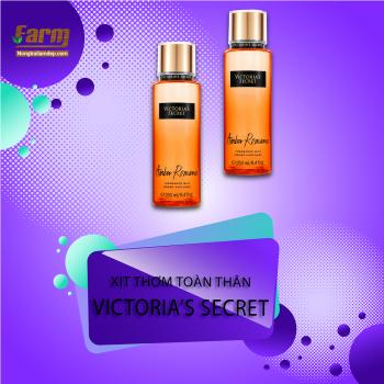 Xịt thơm toàn thân Victoria's Secret Frangrance Mist - Amber Romance 250ml