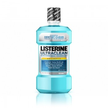 Nước Súc Miệng Listerine Ultraclean Cool Mint Antiseptic Mouthwash (1.5L)