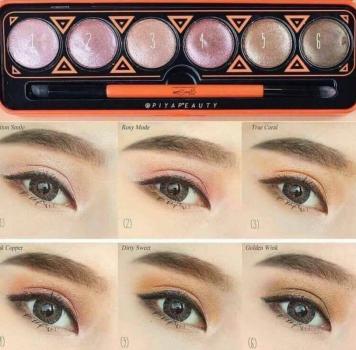 Phấn mắt ánh nhủ Ver88 Glam Shine