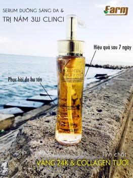 Gel dưỡng Collagen & Luxury cao cấp 3W CLINIC