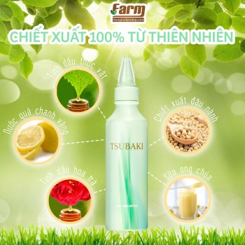 Dầu Gội Khô Tsubaki 180ml Dry Shampoo