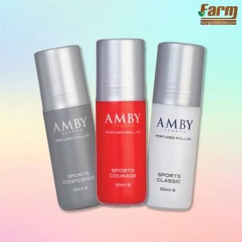 Chai khử mùi - AMBY PURFUMED ROLL - ON SPORTS COURAGE 50ml