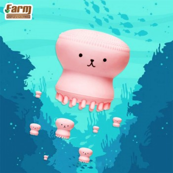 Cọ Rửa Mặt Và Massage Bạch Tuộc - Etude House My Beauty Tool Jellyfish Silicon