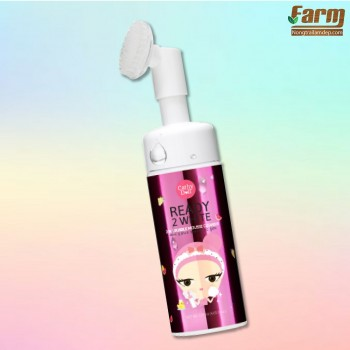 Sữa rửa mặt tạo bọt trắng da Cathy Doll Ready 2 White 2in1 Bubble Mousse Cleanser 120ml