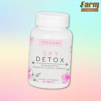 Viên uống giảm cân và thải độc SKY DETOX