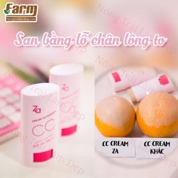 CC Cream che khuyết điểm ZA dạng thỏi