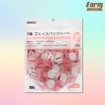 Mặt nạ giấy nén Miniso