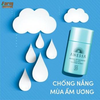Tinh Chất Sữa Chống Nắng Anessa Dành Cho Da Nhạy Cảm & Trẻ Em SPF35/PA+++ 20ml