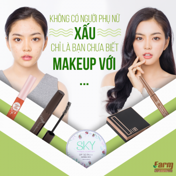 Combo Makeup Cao Cấp Farm