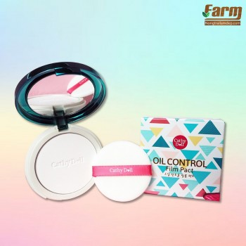 Phấn phủ kiềm dầu trong suốt Cathy Doll Oil Control Film Pact 12g #Translucent