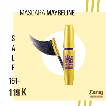 Mascara Maybeline The Color siêu dày mi