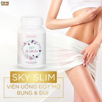 Viên uống giảm mỡ bụng & đùi cao cấp SKY SLIM