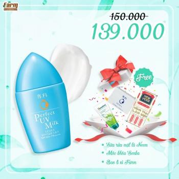 Sữa chống nắng Senka Perfect UV Milk 40 ml