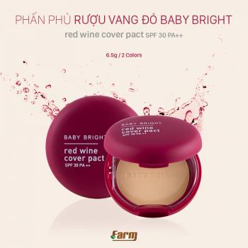 Phấn Phủ Rượu Vang Đỏ Baby Bright