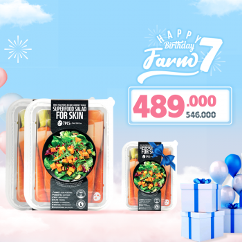 Combo 2 Hộp Mặt Nạ Salad Farmskin