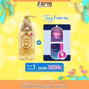 Sữa tắm vàng trắng da 24K Active Gold