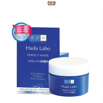 Kem dưỡng trắng hoàn hảo Hadalabo Perfect White 50g
