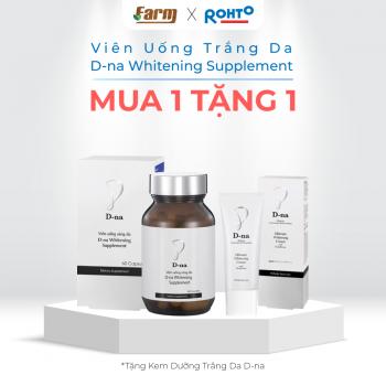 Viên Uống Sáng Da D-Na Whitening Supplement