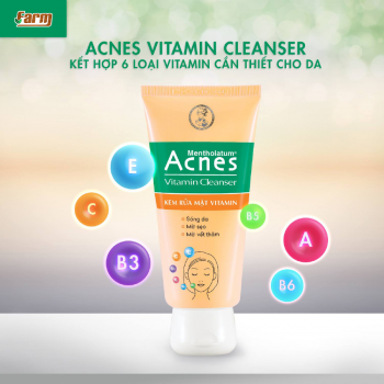 Kem Rửa Mặt Vitamin Sáng Da Acnes