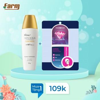 Sữa Chống Nắng Skin Aqua Clear White 25g