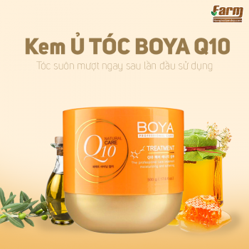 Kem Ủ Tóc Boya Q10 Treatment 500g