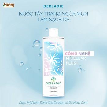 Nước Tẩy Trang Ngừa Mụn Làm Sạch Da Derladie 500ml