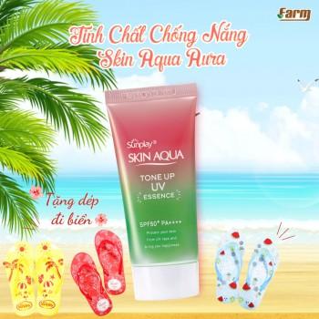 Tinh Chất Chống Nắng Skin Aqua Aura