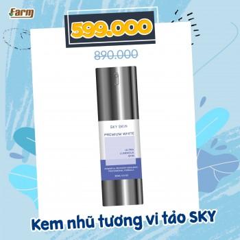 Kem Nhũ Tương Vi Tảo Sky Skin