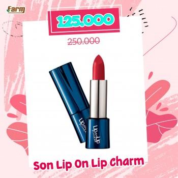 Son lì dưỡng môi Lip On Lip Charm