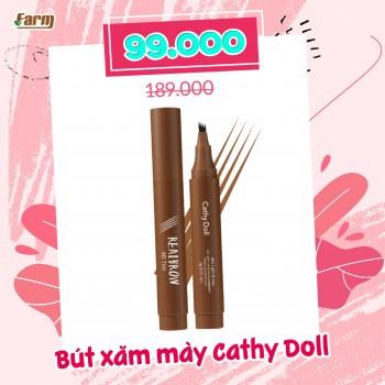 Bút xăm mày Cathy Doll Real Brow 4D Tattoo Tint 1g
