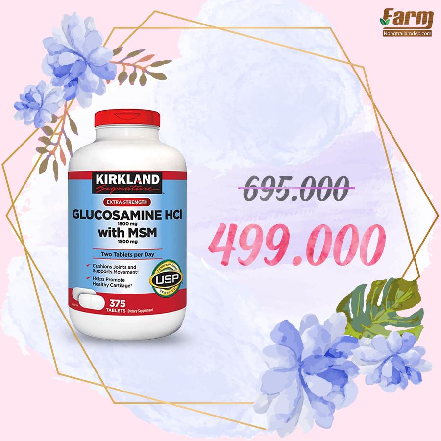 Viên uống hỗ trợ xương khớp Glucosamine