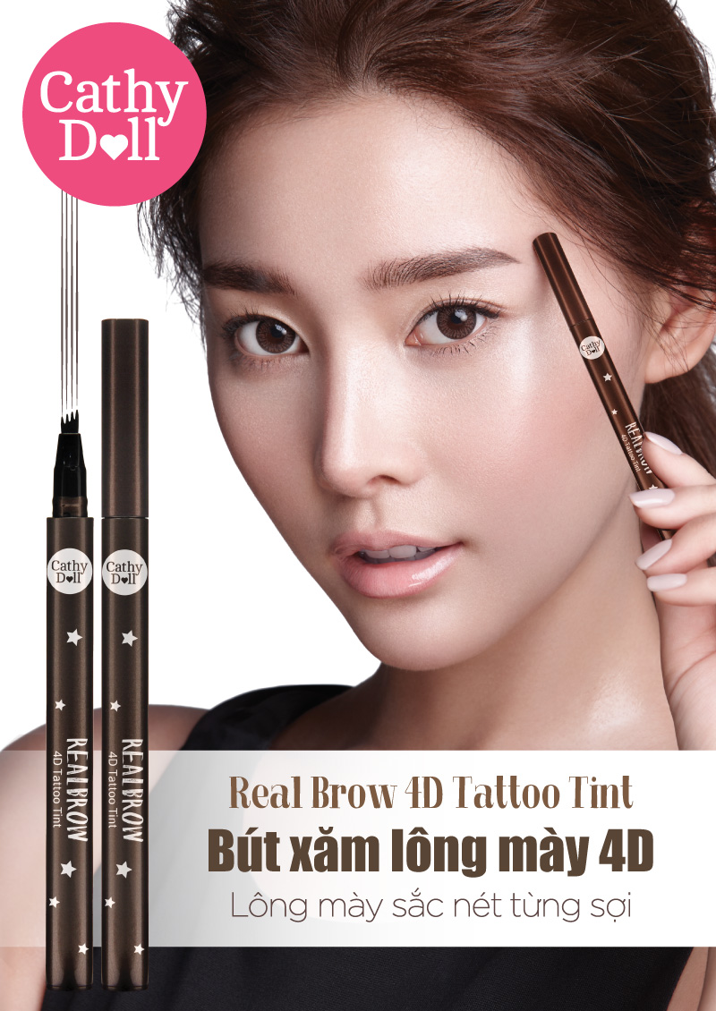 Real Brow 4D Tattoo Tint 01