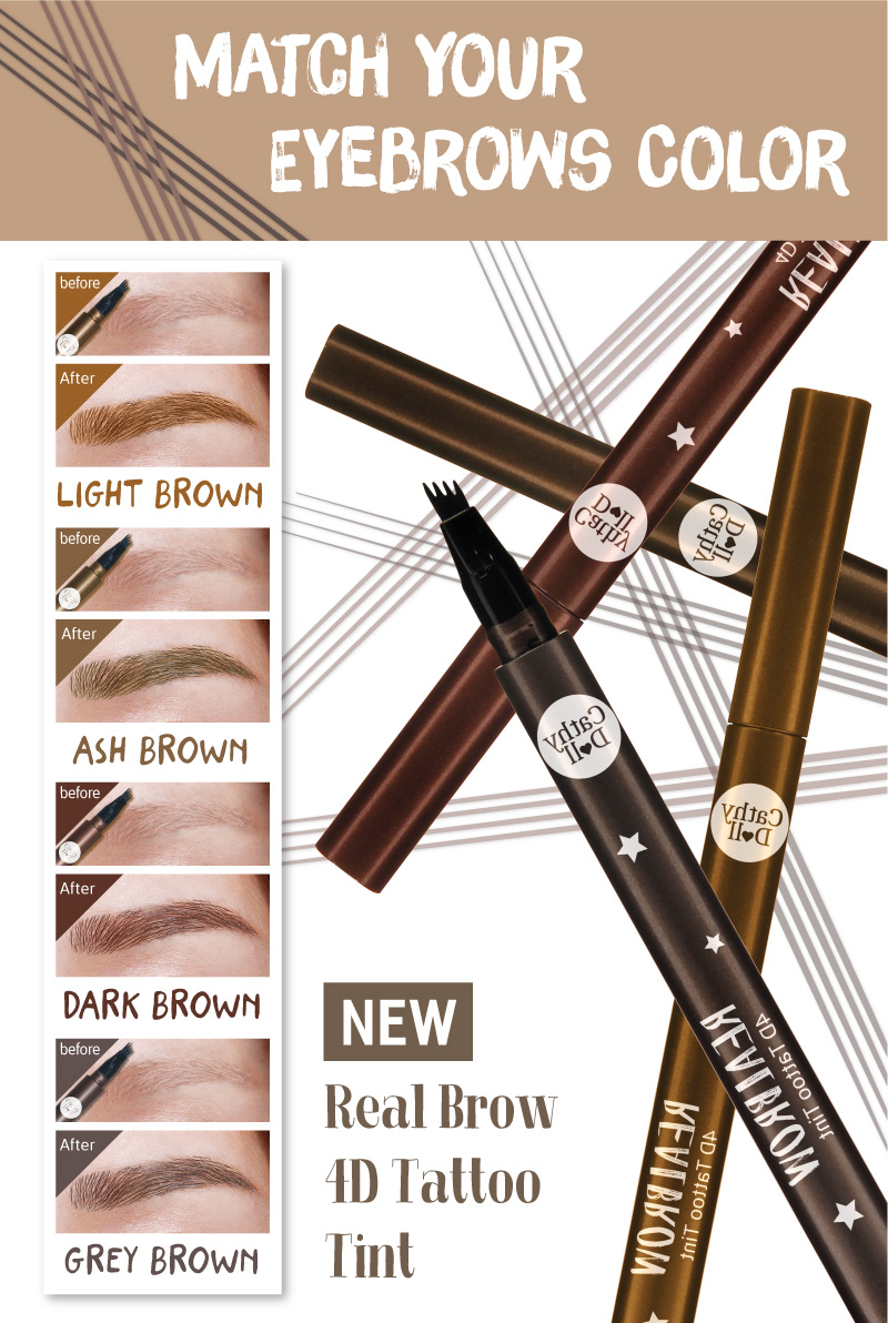 Real Brow 4D Tattoo Tint 04