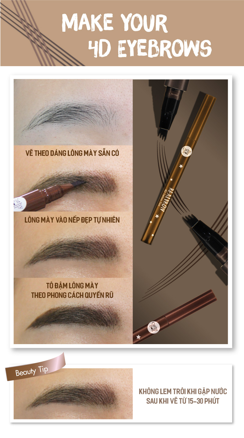 Real Brow 4D Tattoo Tint 05