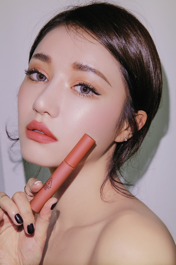 Son kem li 3CE Velvet Lip Tint Han Quoc goingright