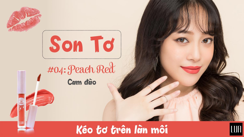 Son Tơ - Lua Fashion Lip Care 6