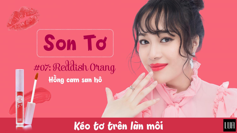 Son Tơ - Lua Fashion Lip Care 9