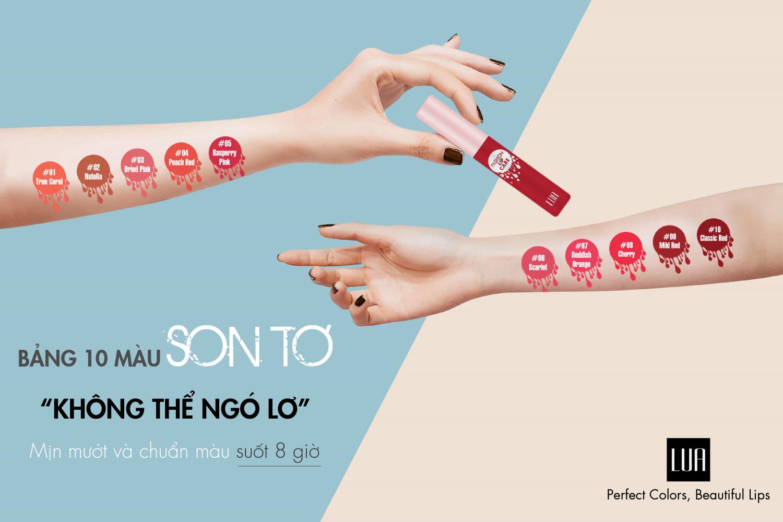 Son Tơ - Lua Fashion Lip Care 2