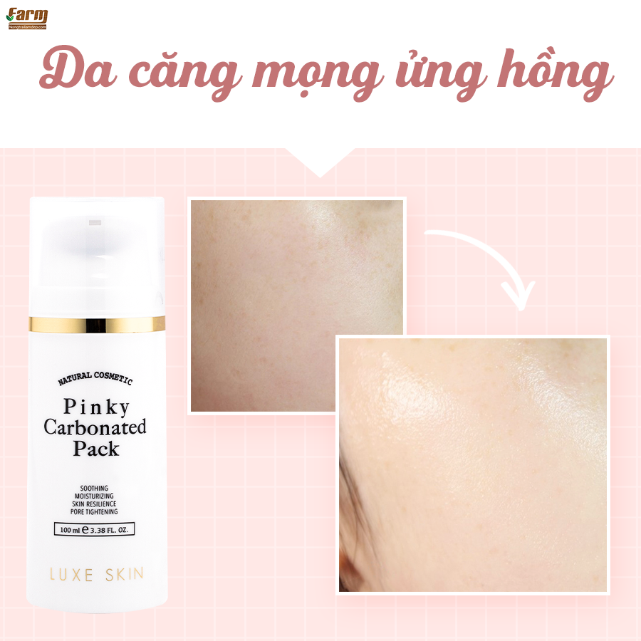 Mặt Nạ Sủi Bọt Carbon Luxe Skin