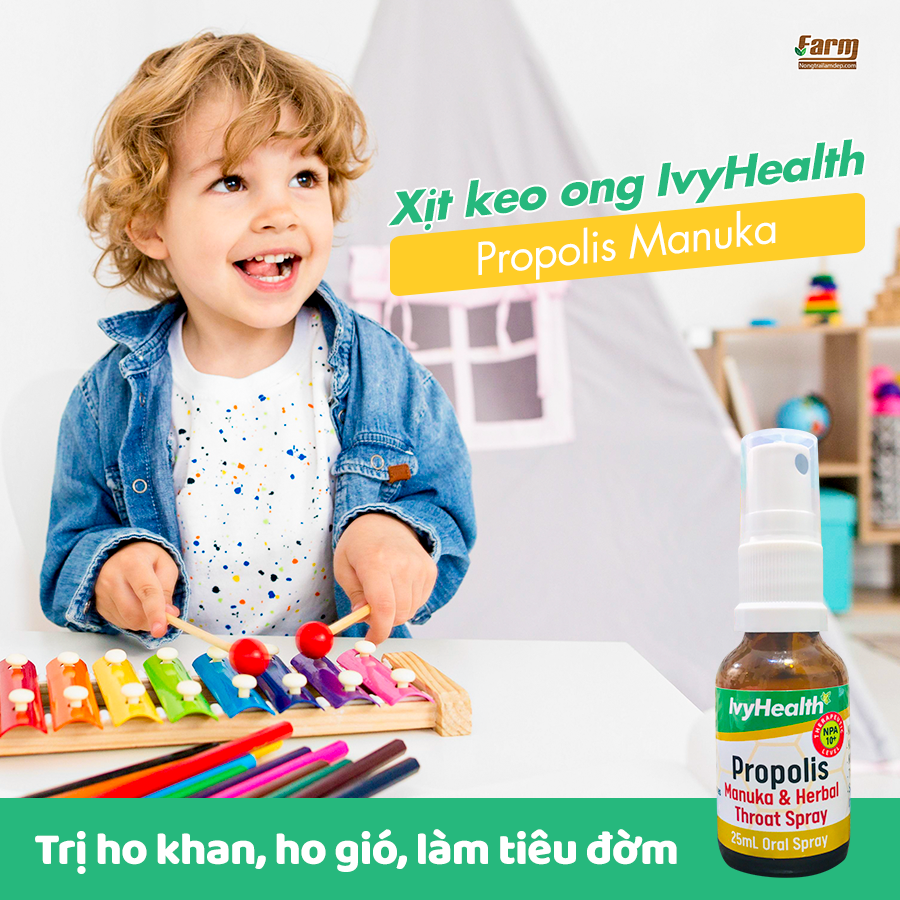 Xịt keo ong Ivy Healthy