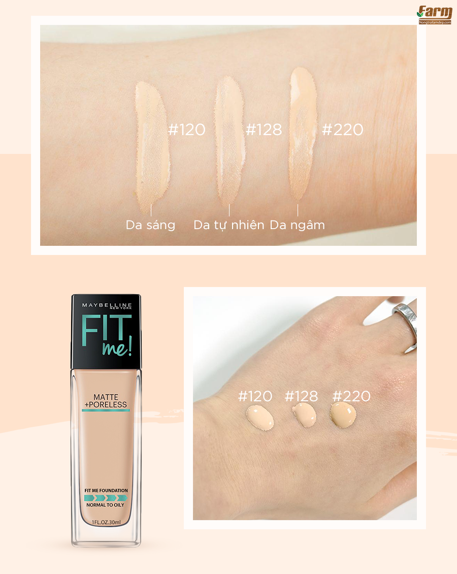 Kem Nền Fit Me Foundation 9